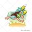 Sport vector, vector background, cartoon