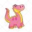 Dinosaur vector, dino, animal vector, triceratops, comic, animal vectors, brontosaurus, pterodactyl
