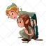 Elf vector, fairy vector, fantasy, fairy tale, story vector, character, mascot