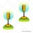 traffic light vector, stop light vector, traffic signal vector, semaphore illustration