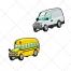 Vehicles, bus vector, vectors