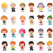 People vector pack, people vectors, people illustration, cartoon