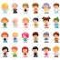 People vector pack, people vectors, people illustration, cartoon