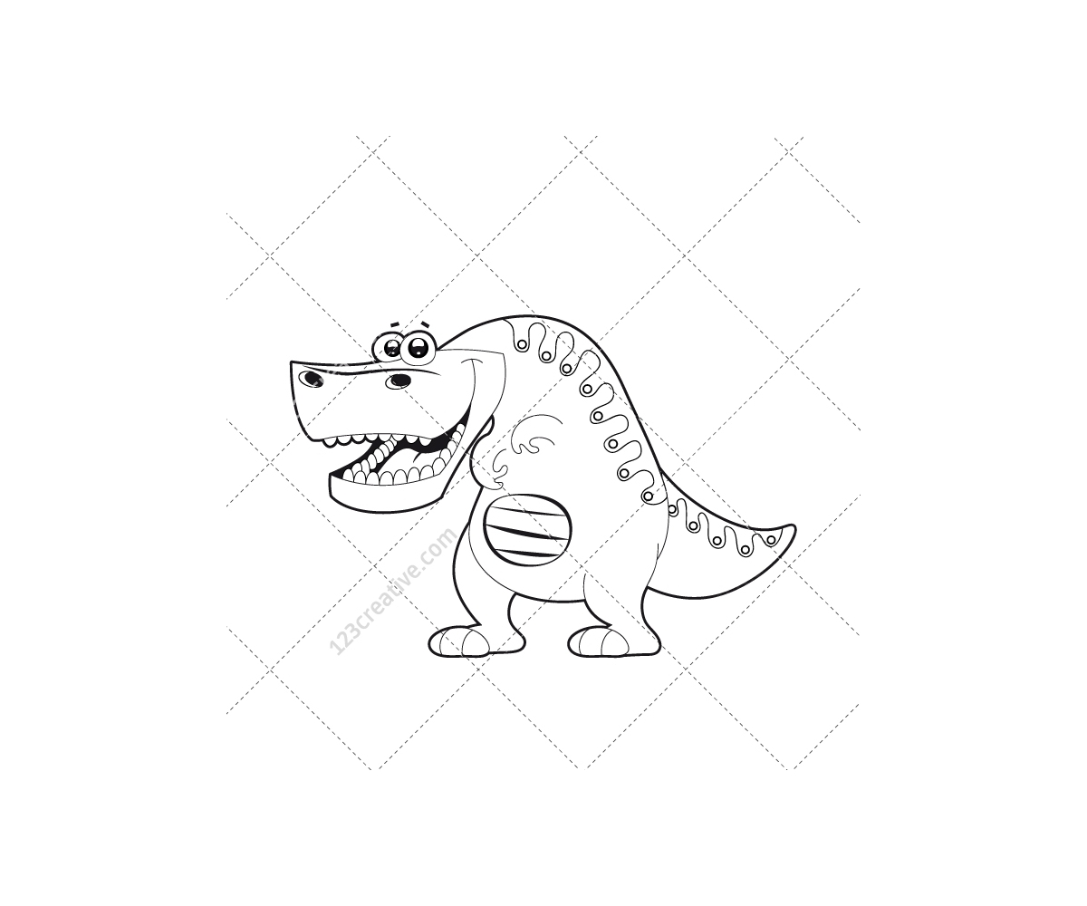 Dinosaur vector pack animal vectors