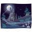 Landscape illustration, vector pack, magic, fantasy, cartoon