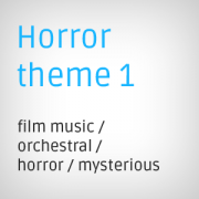 Horror theme background music