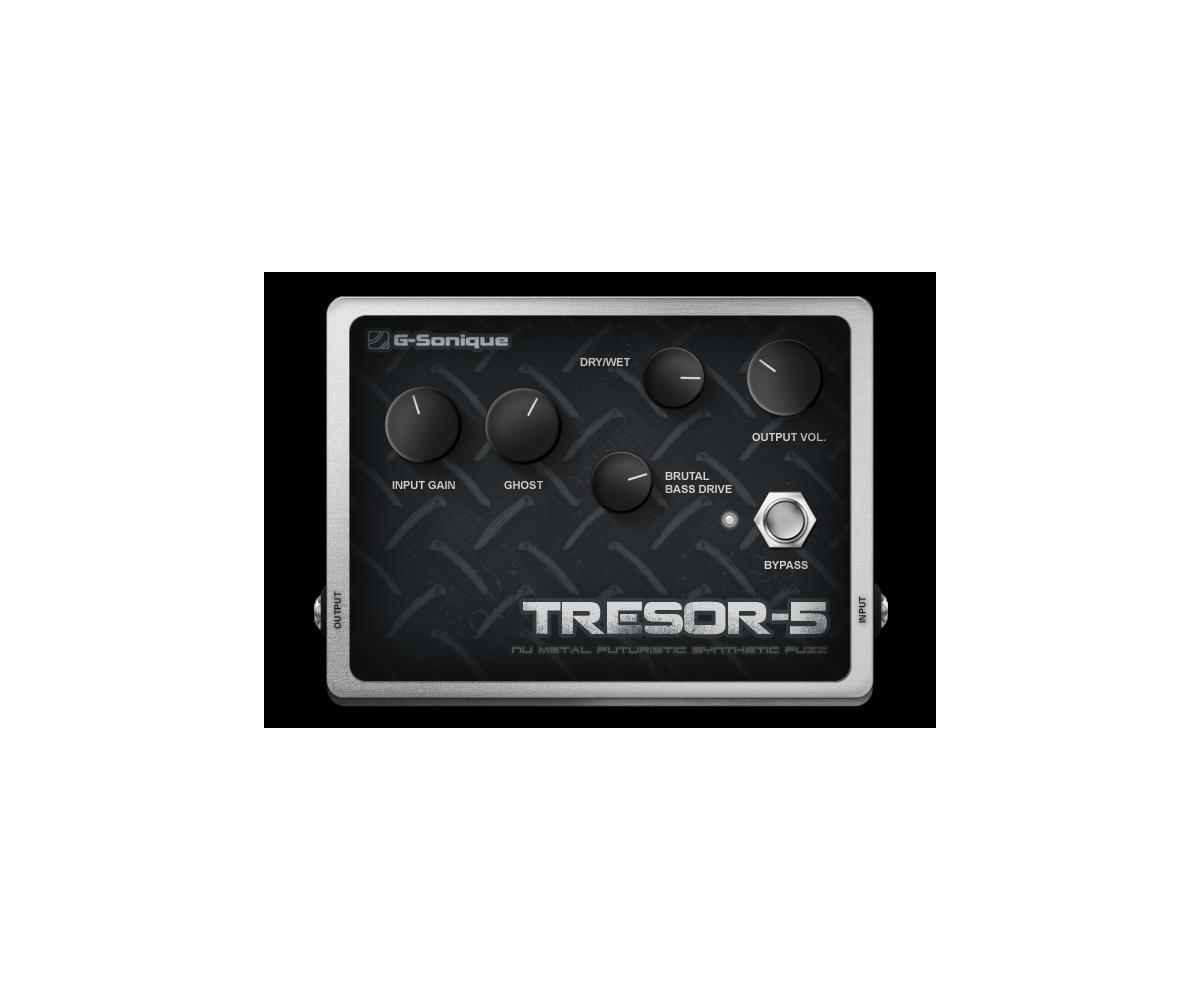 tresor5 nu metal synthetic guitar fuzz stompbox vst plug in. Black Bedroom Furniture Sets. Home Design Ideas