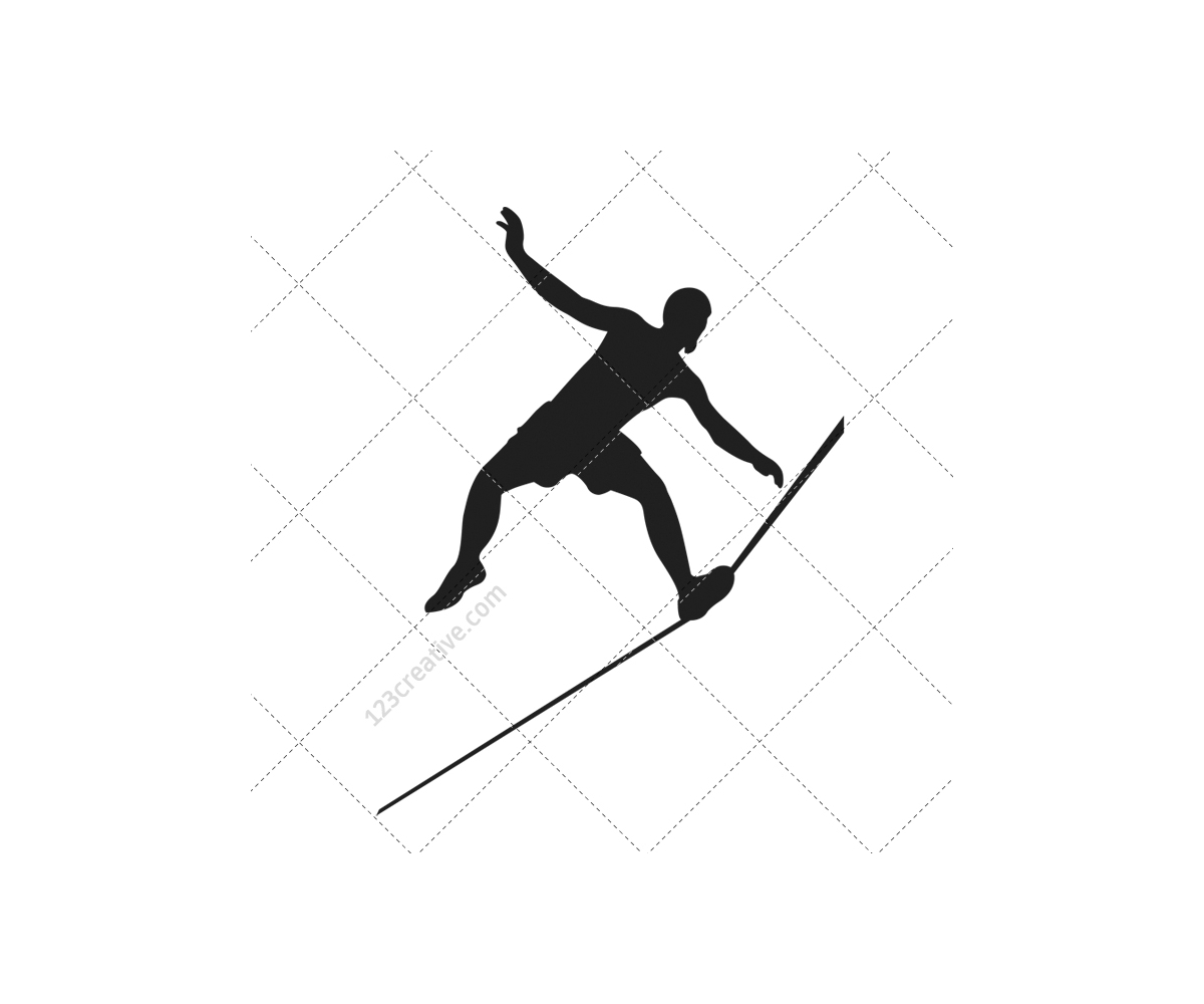 Gymnast silhouettes vector pack - acrobat, gymnastics, athlete, circus ...: www.123creative.com/stock-vectors-people-and-sport/198-gymnast...