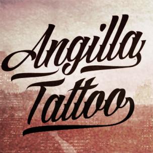 Angilla Tattoo - font family