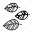leafs vector art, sketch tree leaf vector