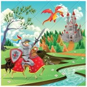 Medieval illustration pack, cartoon illustration, medieval vector, landscape, historic, ancient