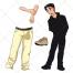 man vector, father, parent vector, head vector, man silhouette, trousers, shoe