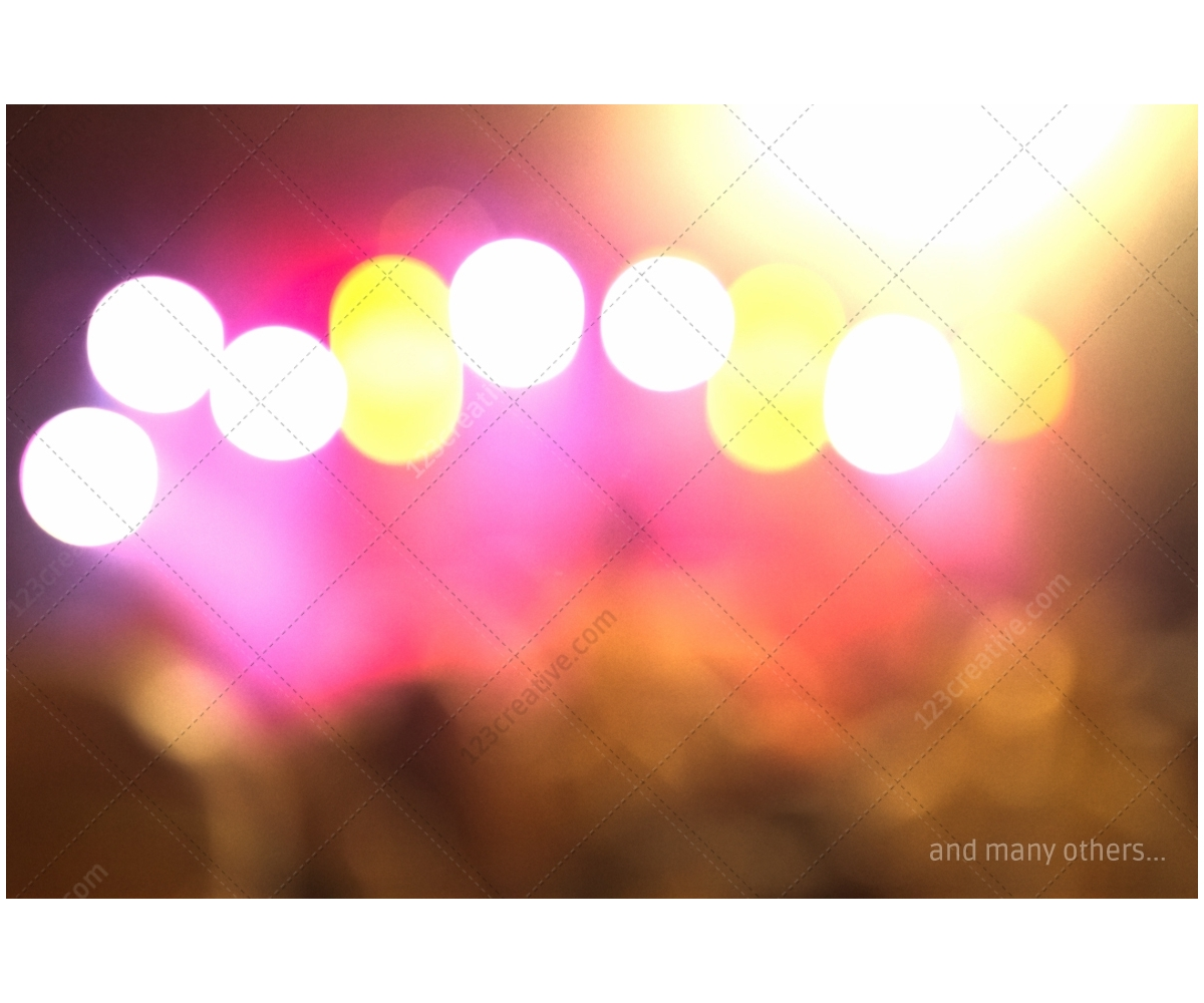 party flyers bokeh background - photo #3
