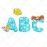 font vector, animal vector, capital vectors, abc, alphabet vectors, buy vector