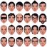 avatar vector, man face vector, white man, boy face vector, buy vector