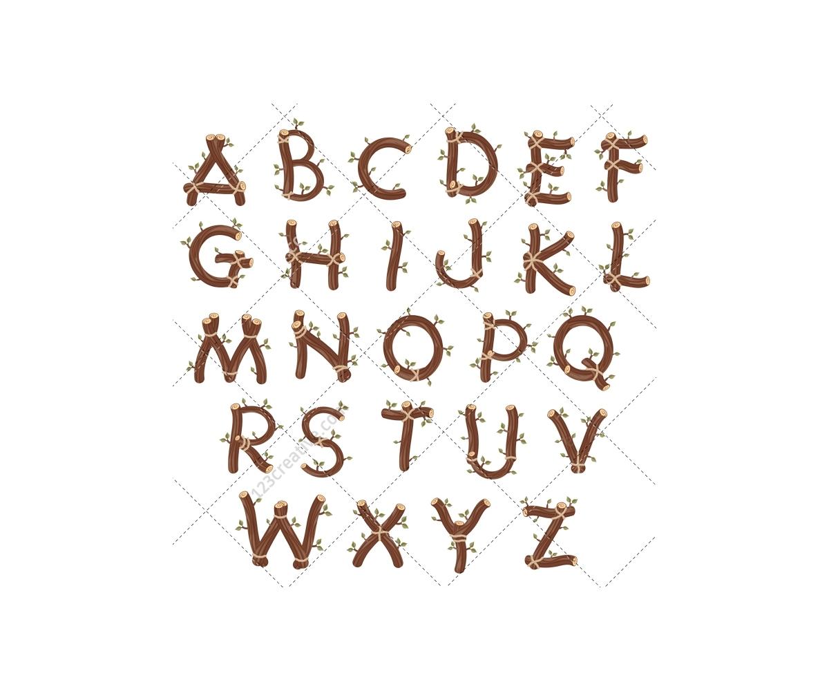 Log Font