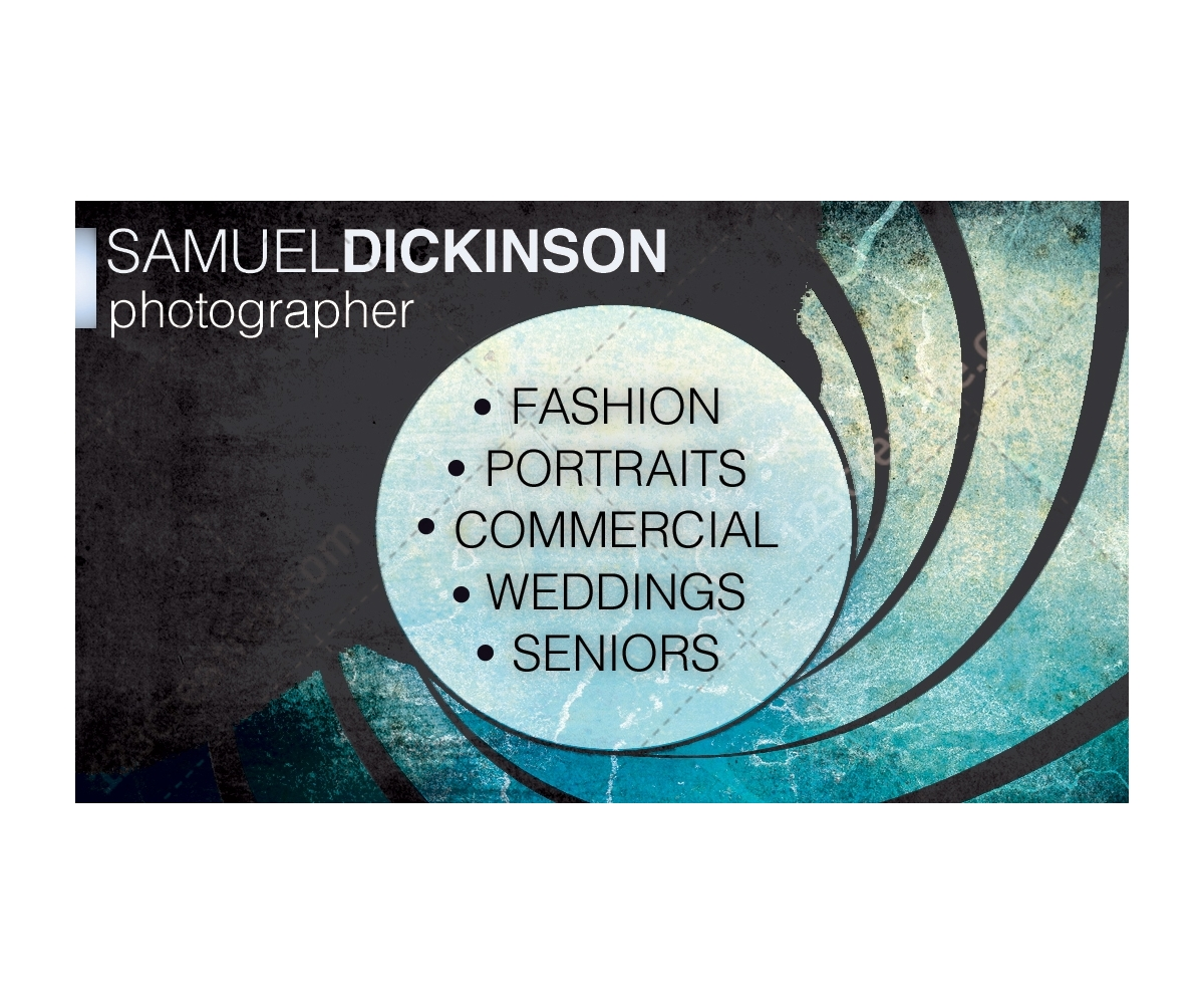 Business Card Design Template Buy Professional Business Card For Photographer Creative People Modern Grunge Design