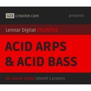 Acid Arps & Acid bass presets for Sylenth 1 synthesizer