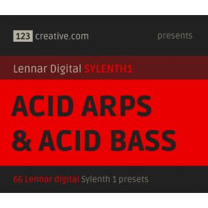 Acid Arps & Acid bass presets for Sylenth 1