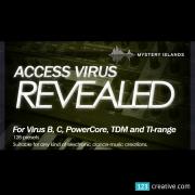 Access Virus Revealed Volume 1 - trance, dance, progressive presets, preset bank, patches