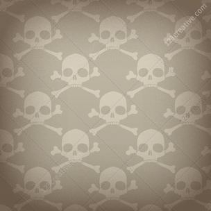 5 Skull patterns pack