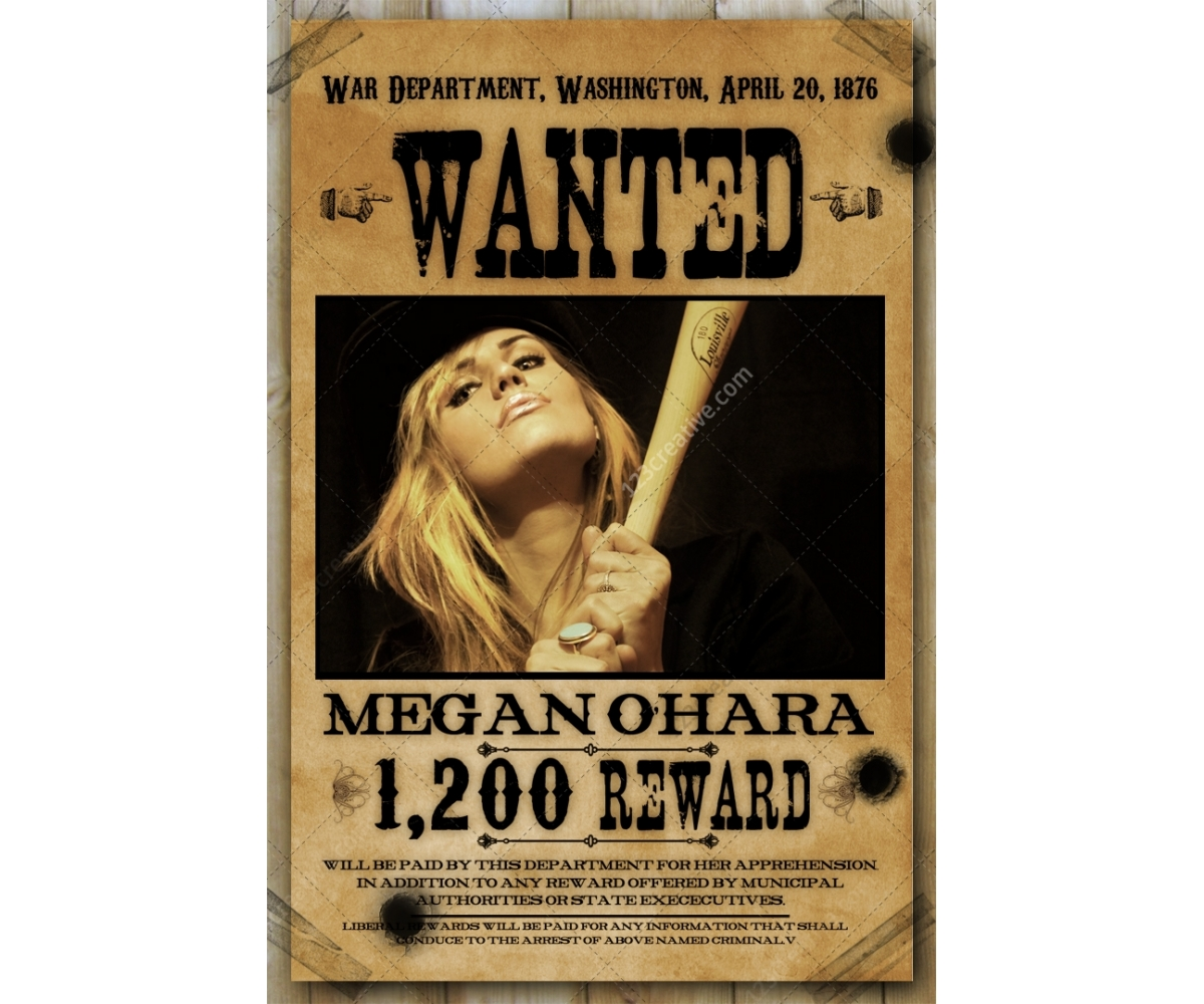 Most Wanted Poster Template Wanted Poster Template Buy Woman – Wanted Poster Template Download