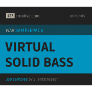 Virtual solid bass - wav bass samples / samplepack