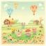 cute animal vector, cartoon illustration, farm illustration, cute vector illustration, children vector illustration buy