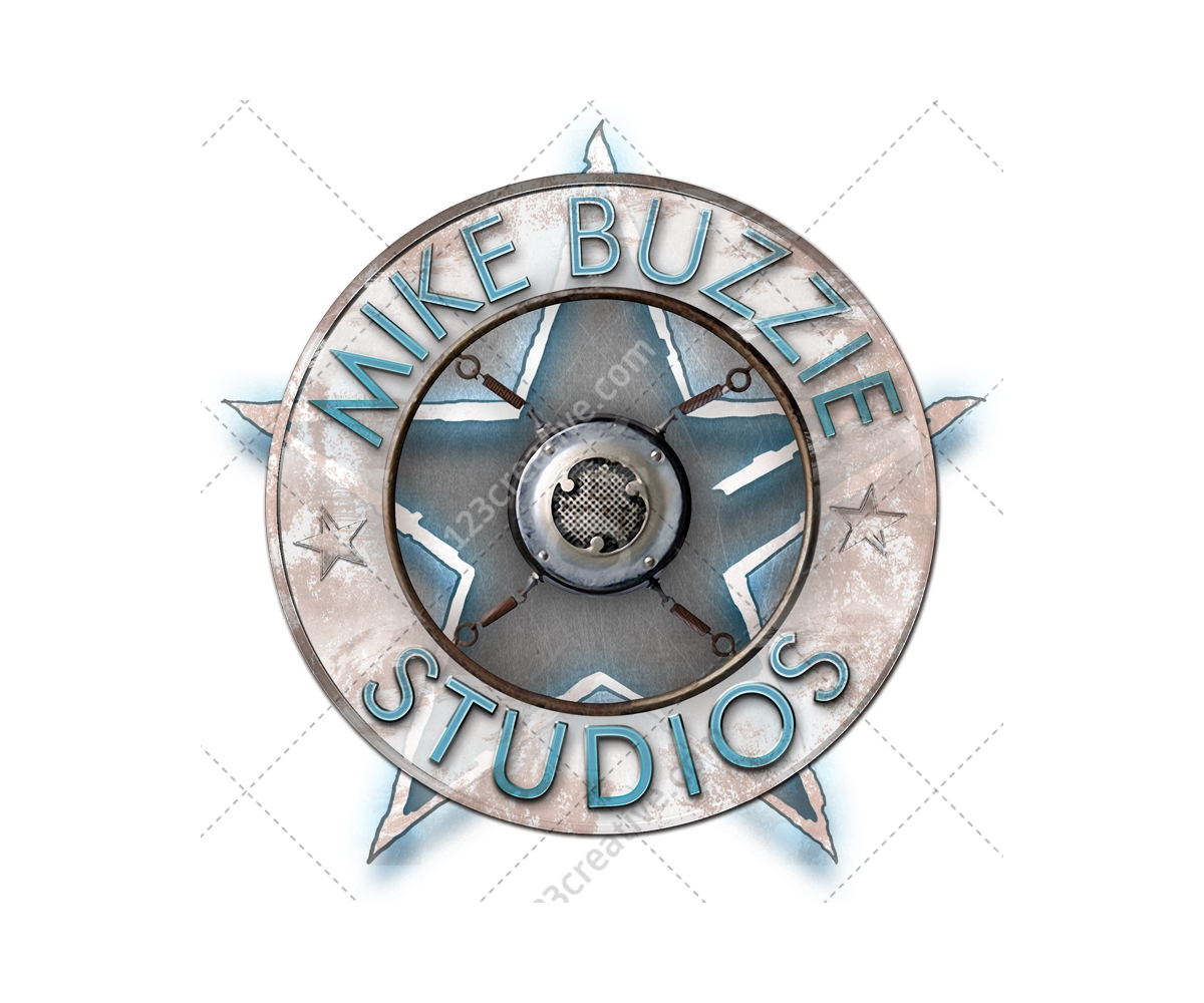Grungy Badges Label Psd Emblem Brand Star Element Psd Template