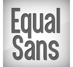 Equal Sans - font