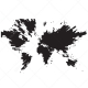 global map vector, technology vector, abstract world map vector, technic vector, technical vector, world map vectors, buy vector