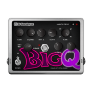 BigQ - Envelope follower - virtual guitar effect, pedal, stompbox, vst