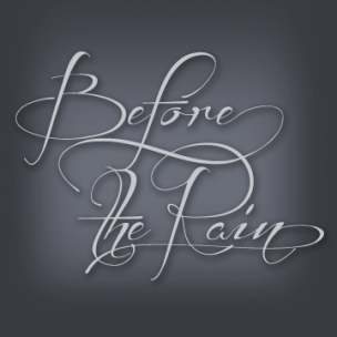 Before The Rain - font family