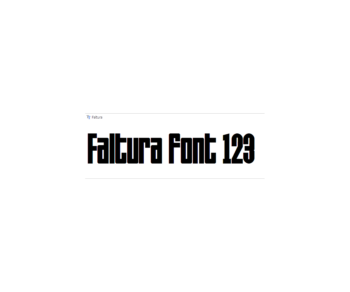 Font release note