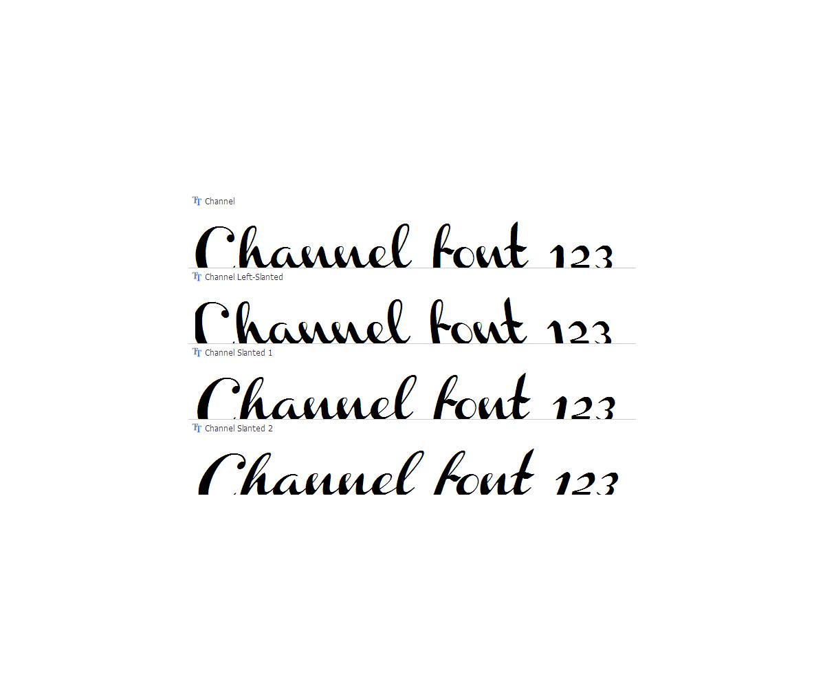 Slanted Handwriting Font Ink Pen Cursive Fonts Hand