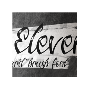 Jacked Eleven - font family