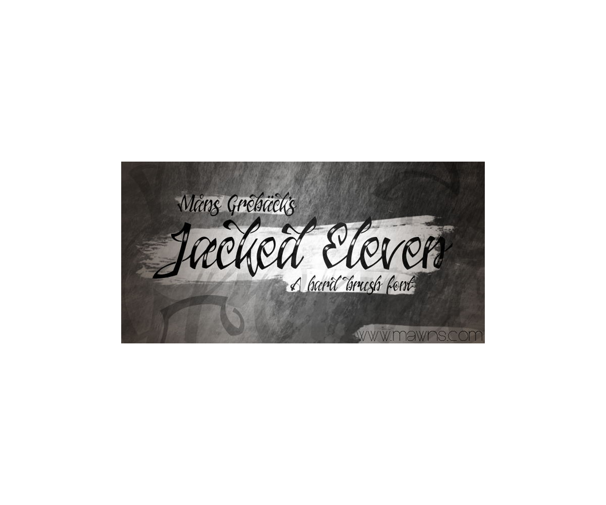 Hard brush font decorative tattoo font family swashes