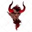 devil vector, demon vector, dark vector, color vector, dark vector, creature vector, character vector, steam vector, fog, vector