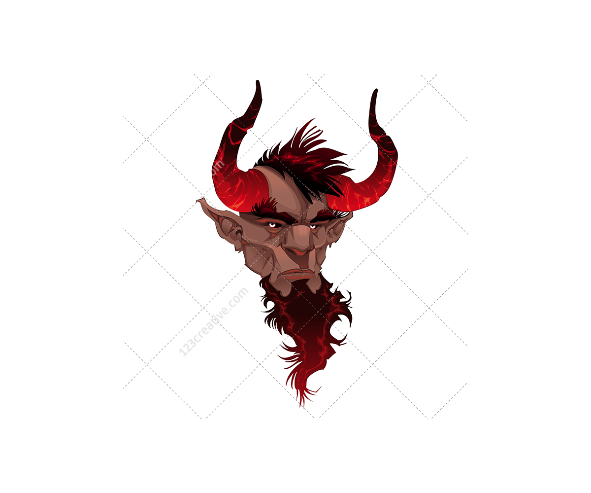 Devil: Color Vector (devil Vector, Demon, Dark