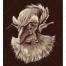 old man vector, mysterious vector, man vector, color vector, dark vector background, character vector, man in the dark, vector c