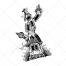 fantasy house vector, tower vector, hand drawn vector pack, tower to heaven, fantasy tower, twisted house, magic vectors