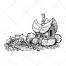 fantasy houses vector, hand drawn house vector, charming vector, elf house, charming house, story vector, dwarf house