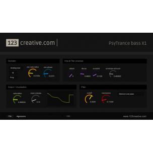 PsyTrance Bass X1 - VSTi bassline synthesizer