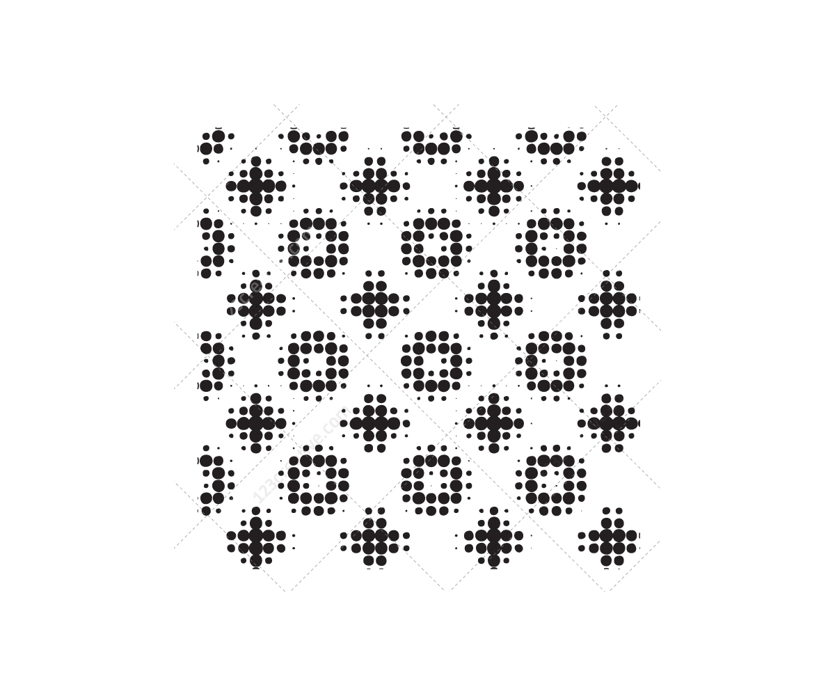 techno pattern vector pack  u2013 cross  dot  hexagon patterns