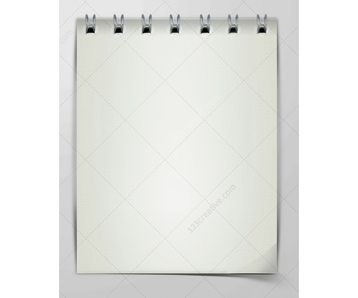 Notepad template notebook paper psd spiral notebook paper – Notebook Paper Template