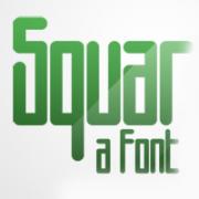 square font, condensed font, square typeface, fat font, rounded square font, modern regular font, graphic design font, buy font