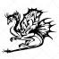 fantasy dragon, dragons vector