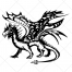 fantasy dragon, story vector, mythical creature