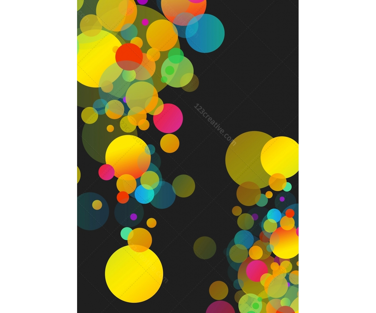 Buy background for graphic design. Fresh modern bubbles ...