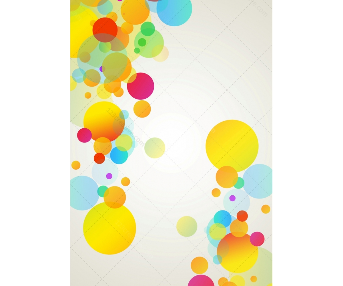 Creative Graphics Design Background: Buy Background For Graphic Design. Fresh Modern Bubbles